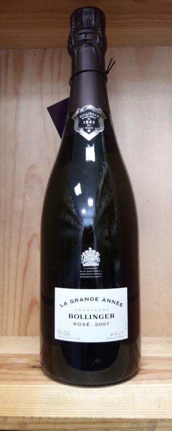 Champagne Bollinger  rosé «la grande année»