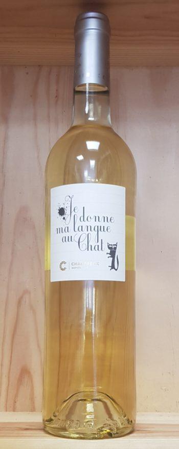 Cellier des Chartreux «Je donne ma langue au chat»